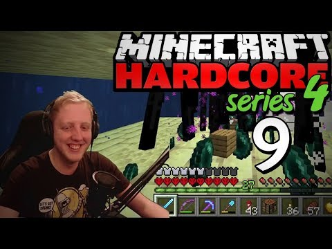 "Minecraft Hardcore - S4E9 - ""ENDERMAN FARM"" • Highlights"