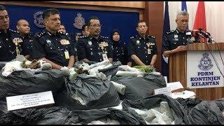 3 nabbed, 999kg ketum leaves seized in Kelantan