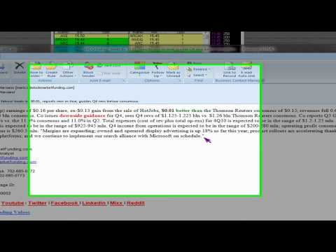 LIVE Trading Update: Stock Market After Hours Update Yahoo.com YHOO