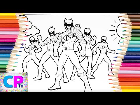 Power Rangers Dino Charge Coloring Pages,Power Rangers Coloring Pages Kids Tv,Power Rangers Fun