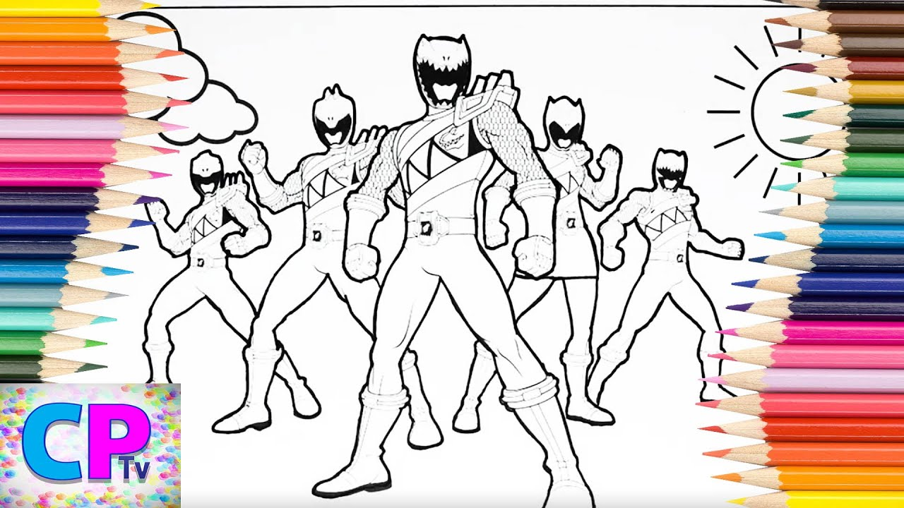 power rangers dino charge coloring pages power rangers. Black Bedroom Furniture Sets. Home Design Ideas