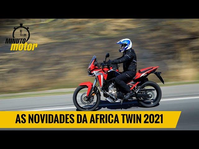 Confira as novidades da Africa Twin 2021