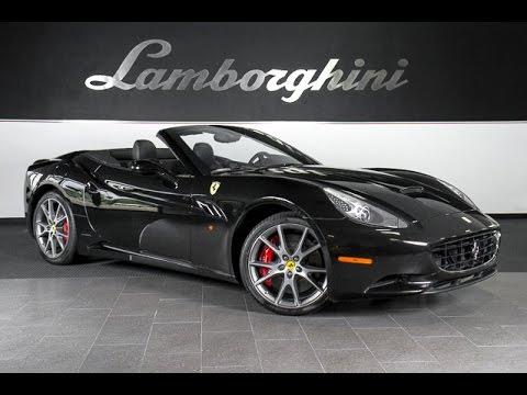 2010 Ferrari California Gloss Black Lc306 Youtube