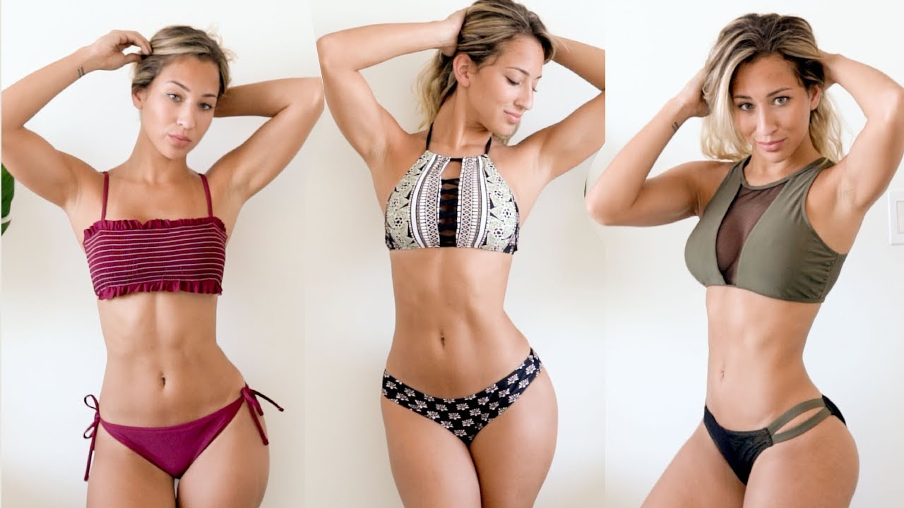 78136bd526 BIKINI Try-On HAUL - CUPSHE ALL under $30 // Vicky Justiz - YouTube