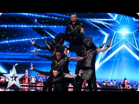 ALLin Dance Crew bring Game of Thrones to BGT | Auditions Week 6 | Britain's Got Talent 2017