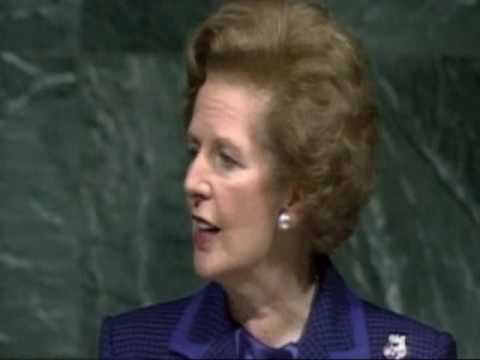 Margaret Thatcher Sounded the Alarm on Climate Change