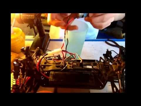 How to clean a brushed motor. Rc car