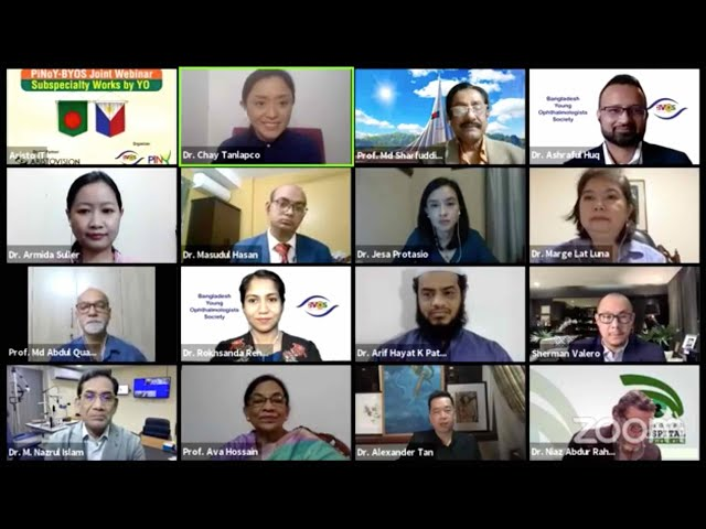 PiNoY-BYOS Joint Webinar on Subspecialty Works by YO