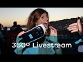 EDP pioneering 360º Livestream
