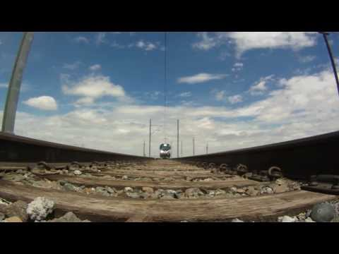 The New Amtrak ACS-64 In Pueblo, Colorado's FRA Test Facility. Video Re Posted From Siemens USA