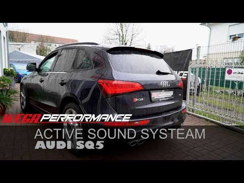 Repeat Audi SQ5 Aktivsound Maxhaust Soundbooster Q5 Diesel