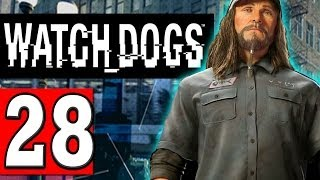 "Watch Dogs Walkthrough Part 28 MISSION A PIT OF PARANOIA ""Watch Dogs PS4 XBOX PC"""