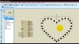 Tự học 8051: Bai5 - Hướng dẫn lập trình LED trái tim - Rất dễ làm