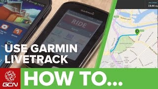 How To Set Up + Use Garmin LiveTrack