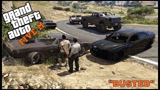 GTA 5 ROLEPLAY - POLICE CHASE BUSTED!  - EP. 339 - CIV