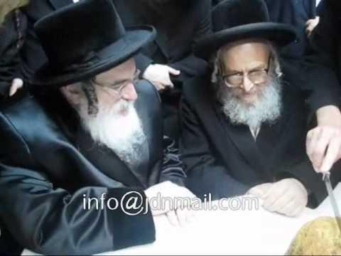 R' Mendel Hager of visnitz visiting Ashdod - Adar 5771