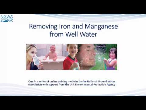 Removing Iron And Manganese From Well Water