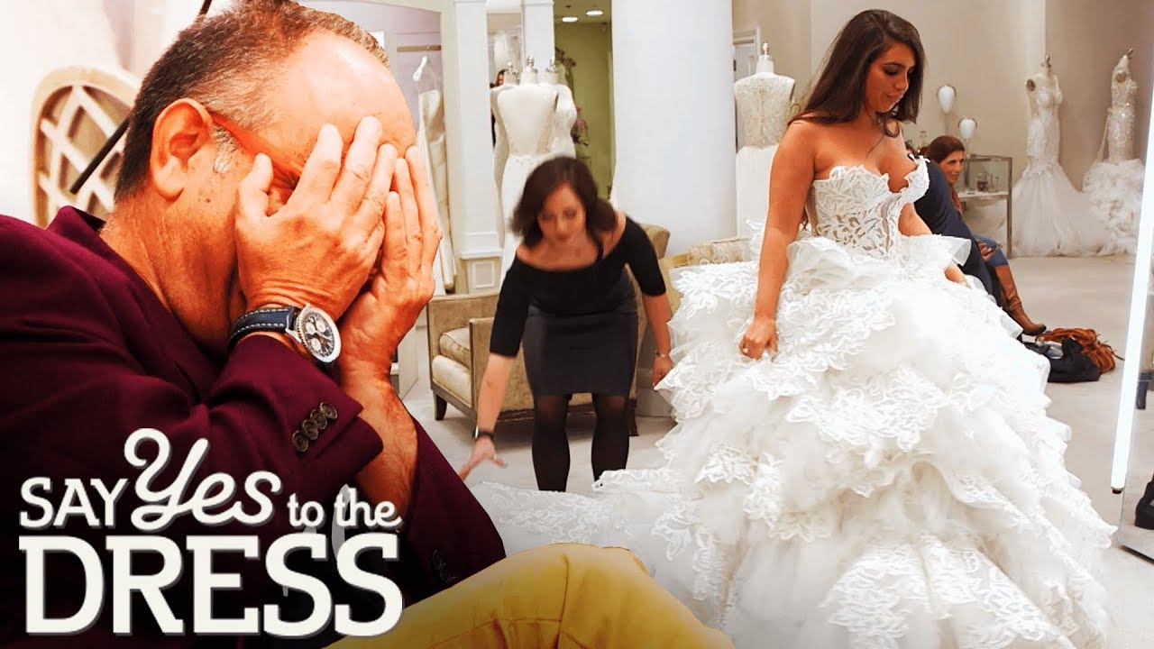 Daddy S Girl Tries On A 16 000 Dress Say Yes To The