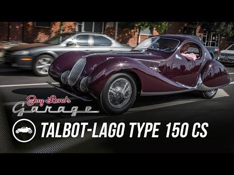 1937 Talbot-Lago Type 150 CS - Jay Leno's Garage