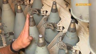 Бояться надо. Главное - слаженность экипажа, - обучение артиллеристов в Донецкой области