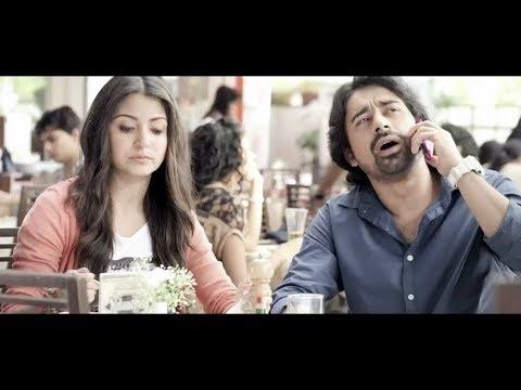 ▶ Anushka Sharma and Rannvijay Some Funny Beautiful Reliance Mobile Ads Commercial  TVC E7S36