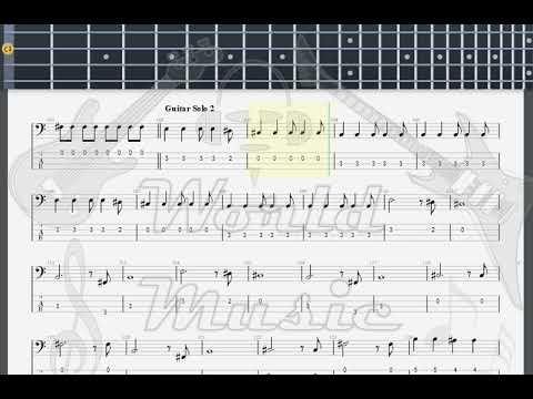 Guns N Roses November Rain Bass Guitar Tab Youtube