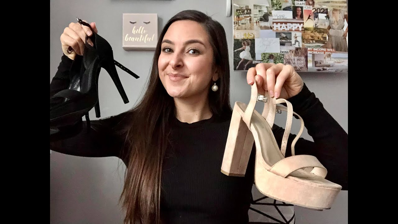 Should you wear heels in a pageant?