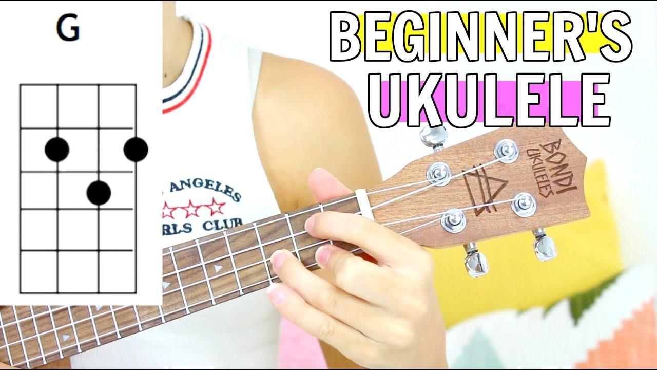 Video Ukulele Tutorial for Beginners - How to Play Summer Vibes