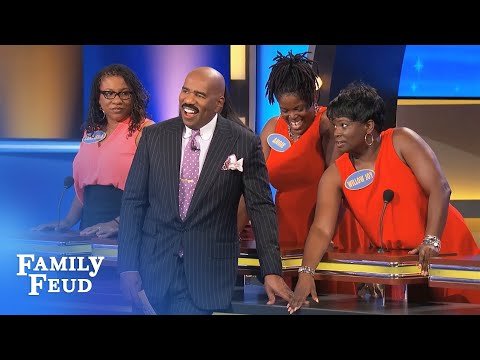 Steve's WIFE loves HIS... | Family Feud