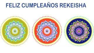 Rekeisha   Indian Designs - Happy Birthday