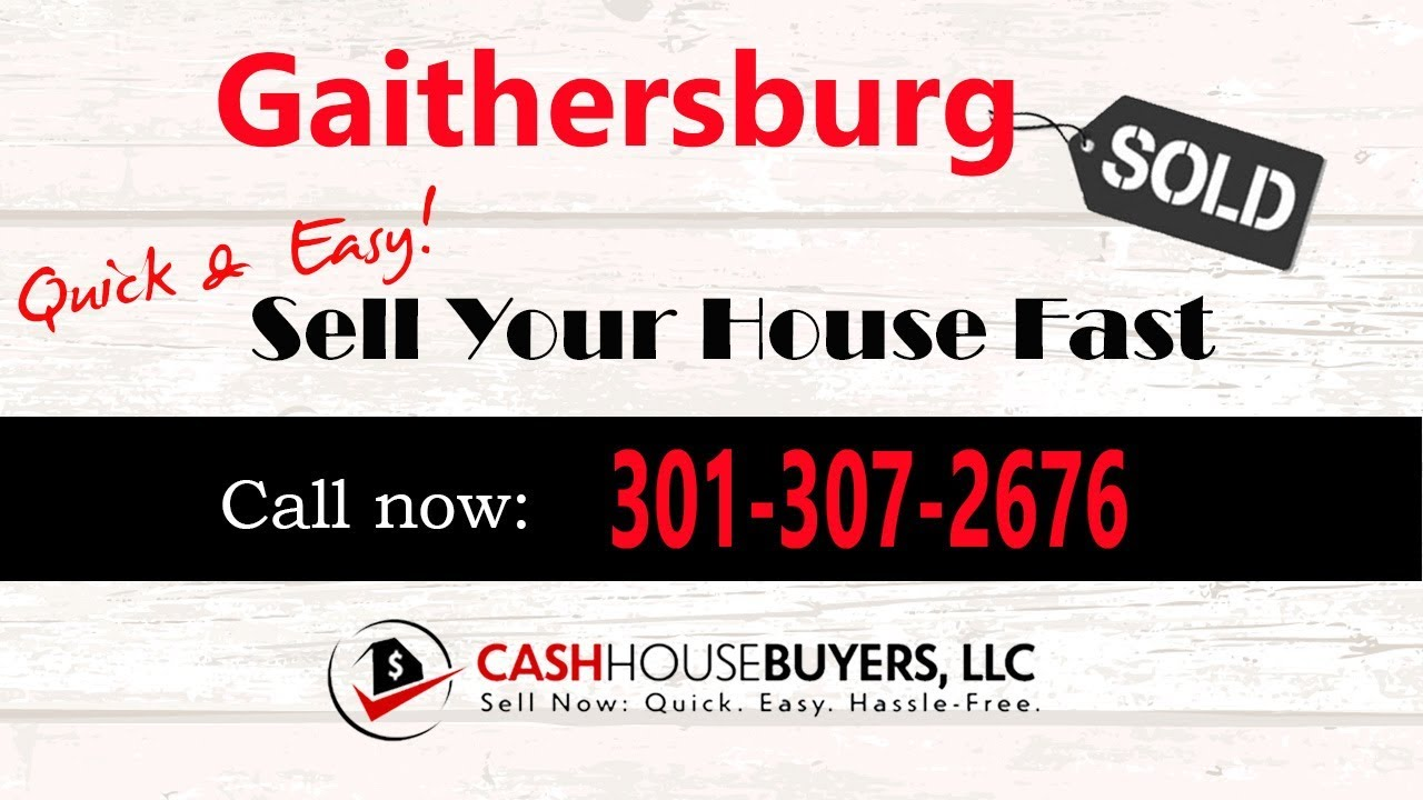 HOW IT WORKS We Buy Houses Gaithersburg MD | CALL 301 307 2676 | Sell Your House Fast Gaithersburg