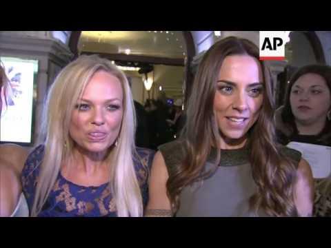 Stars arrive for world premiere of Spice Girls musical, 'Viva Forever'
