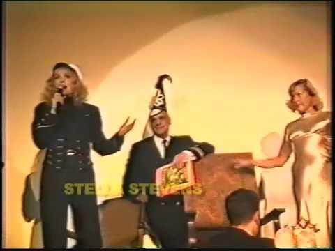 STELLA STEVENS & CAROL LYNLEY reenact POSEIDON ADVENTURE -NEW YEARS EVE scene. Total  Camp!