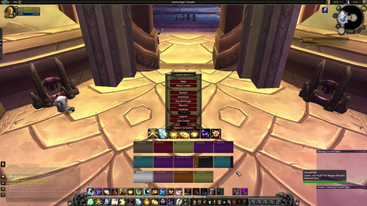Simple and easy to set up WoW raid frames for healing - WoW default raid  frames