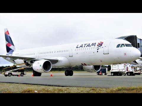 FLIGHT REPORT   LATAM Chile [LXP273]   Economy   Airbus A321   Santiago to Puerto Montt
