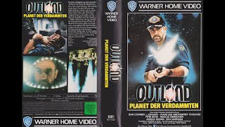 Outland - Planet der Verdammten (GB 1981) Video Teaser Trailer deutsch / german VHS