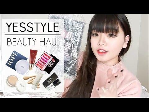 KOREAN BEAUTY HAUL | YESSTYLE ♡ - YouTube