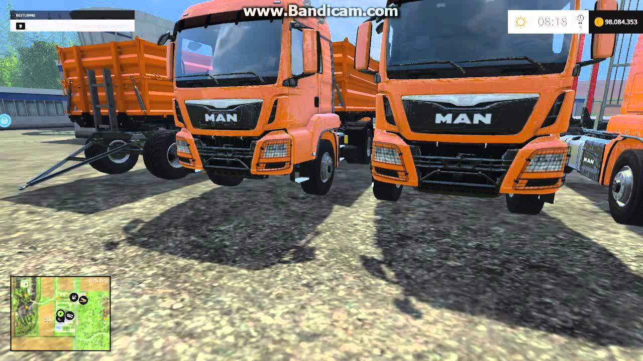 Farming Simulator 2015 - fs15 all different MAN trucks