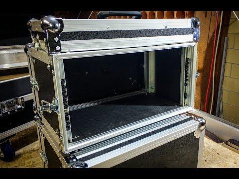 Building a custom Flight Case. Rack case