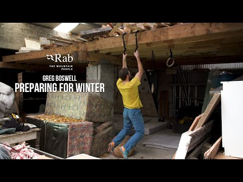 Rab: Preparing for Winter - Lock Off Training