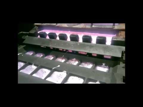 Primary aluminium ingot processing