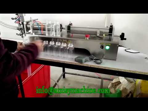 Semi Automatic Liquid And Paste Filling Machine