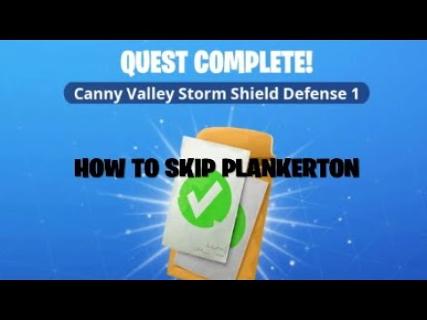 How To Skip Plankerton And Go Straight To Canny Valley (new Glitch)