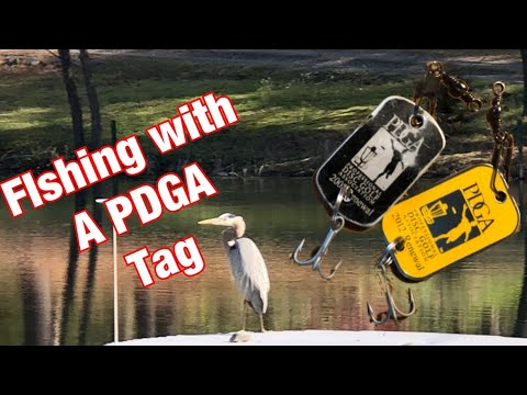 Can I catch a fish with a PDGA Tag?
