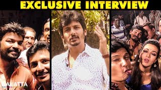 Kalakalappu 2 is better than Kalakalappu 1 - Jiiva | Galatta Tamil Exclusive