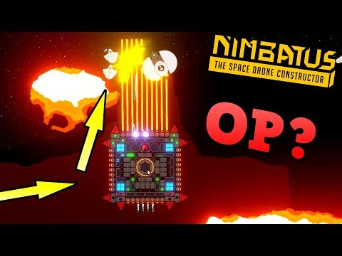 IS THIS STRATEGY OP?! - Nimbatus: The Space Drone Constructor Gameplay Ep 3