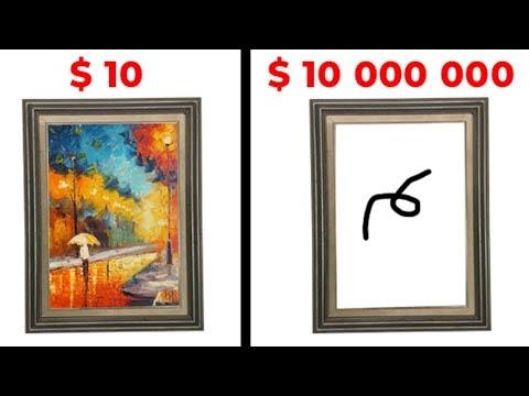 10 Самых Простых Картин Проданных За Миллионы