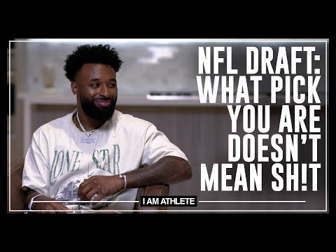 NFL Draft What Pick You Are Doesn't Mean Sh!t| I AM ATHLETE w/ Brandon Marshall, Chad Johnson & More
