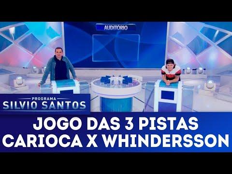 Jogo das 3 Pistas - Carioca x Whindersson | Programa Silvio Santos (03/06/18)