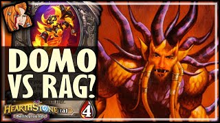 DOMO IS STRONGER THAN RAG?! - Hearthstone Battlegrounds
